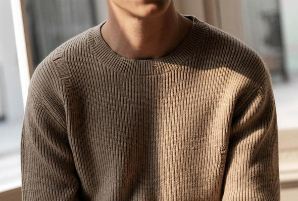 Distressed Knitted Pullover