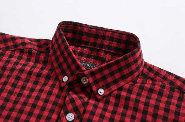Midland Plaid Button Down