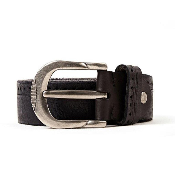 Rockland Perforated Original Cowhide Leather Belt