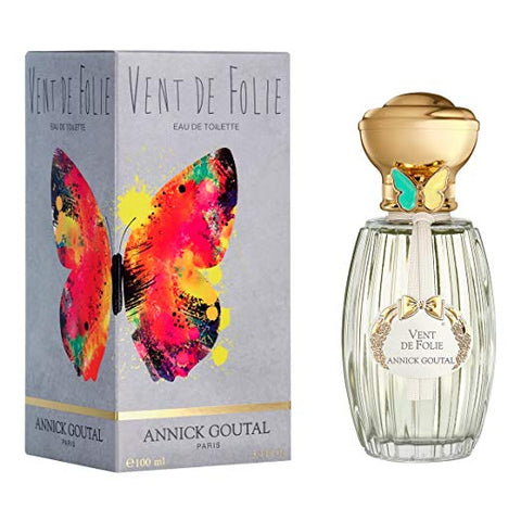 Annick Goutal Vent de Folie EDT Eau De Toilette 3.4 oz / 100 ml Butterfly Edition