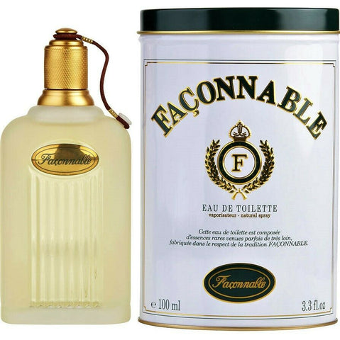 Façonnable 3.3 3.4 oz / 100 ml EDT Eau de Toilette Spray for Men New in Box (Sealed)
