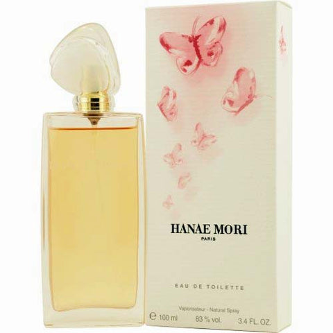 Hanae Mori EDT Eau de Toilette 3.4oz / 100ml New in Box (Pink Butterfly)