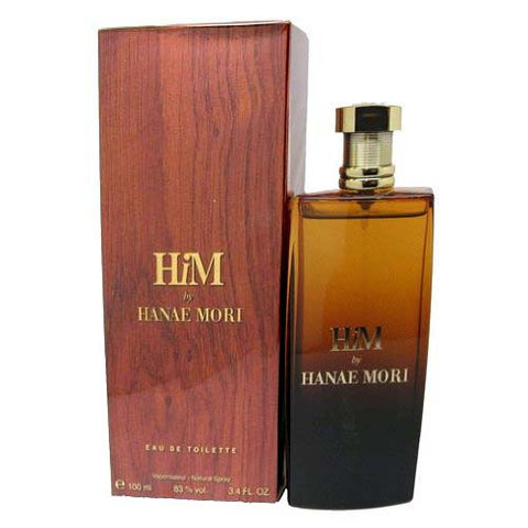 Hanae Mori HiM Eau de Toilette 3.4oz / 100ml