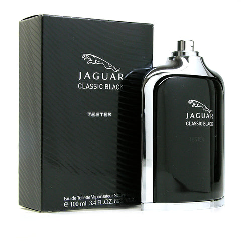 Jaguar Black edt eau de toilette 100ml / 3.4oz EDT New tester (in box / no cap)