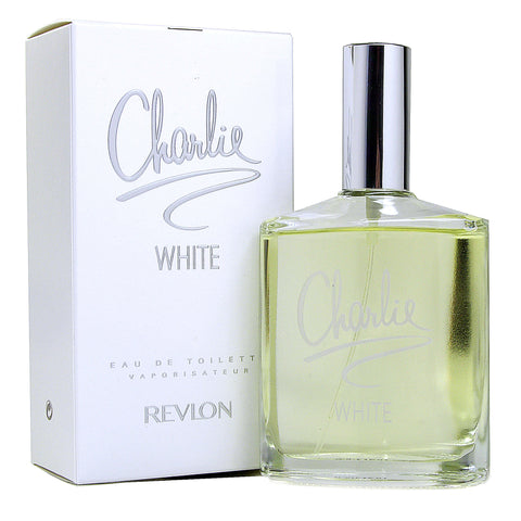 charlie white by revlon 3.4oz / 100ml edt eau de toilette spray