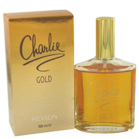 charlie gold by revlon 3.4oz / 100ml edt eau de toilette spray