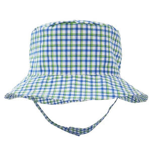 Huggalugs Bucket Hat - Plaid