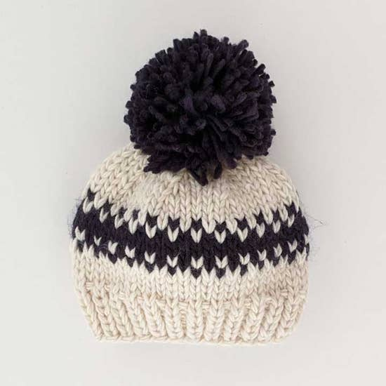 Huggalugs Beanie Hat - Rebel Natural Knit