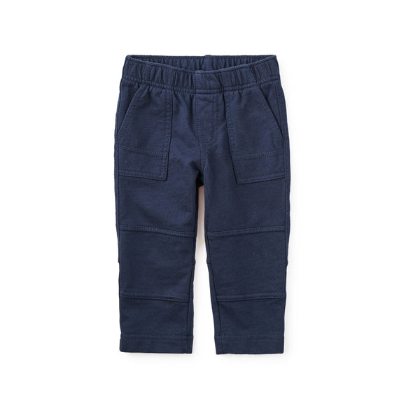 Tea Collection Baby Knit Playwear Pants - Heritage Blue
