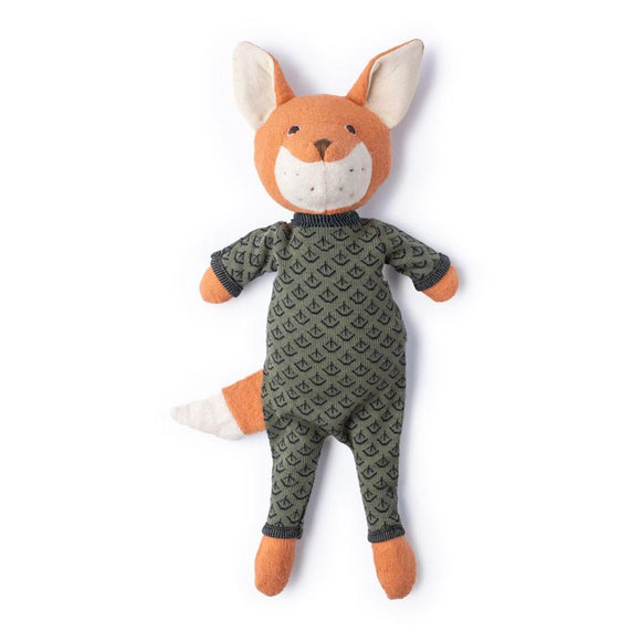 Hazel Village Animal - Reginald Fox in Leaf Cover Romper