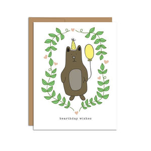 "HAZELMADE - ""Bearthday Wishes"" Card"