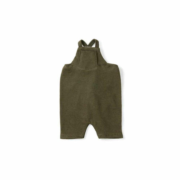 Hazel Village Doll Overalls - Forest Green