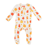 Angel Dear Zipper Footie - Pumpkin Patch