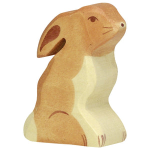 Holztiger Rabbit Seated
