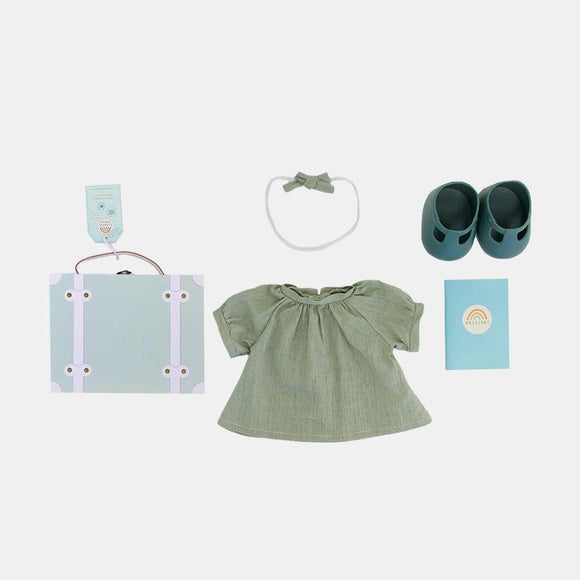 Olli Ella Dinkum Dolls Travel Togs in Mint