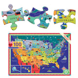 Eeboo 100 Piece Puzzle - This Land is Your Land