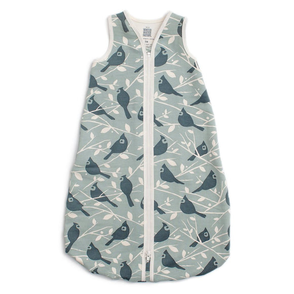 Winter Water Factory Organic Sleeping Bag - Birds in the Trees