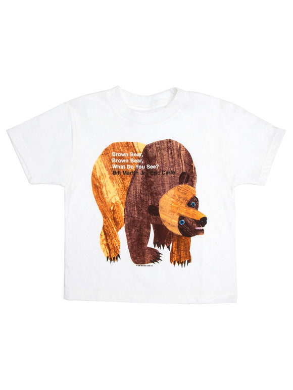 Out of Print T-Shirt - Brown Bear