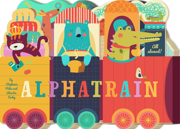 Alphatrain Board Book