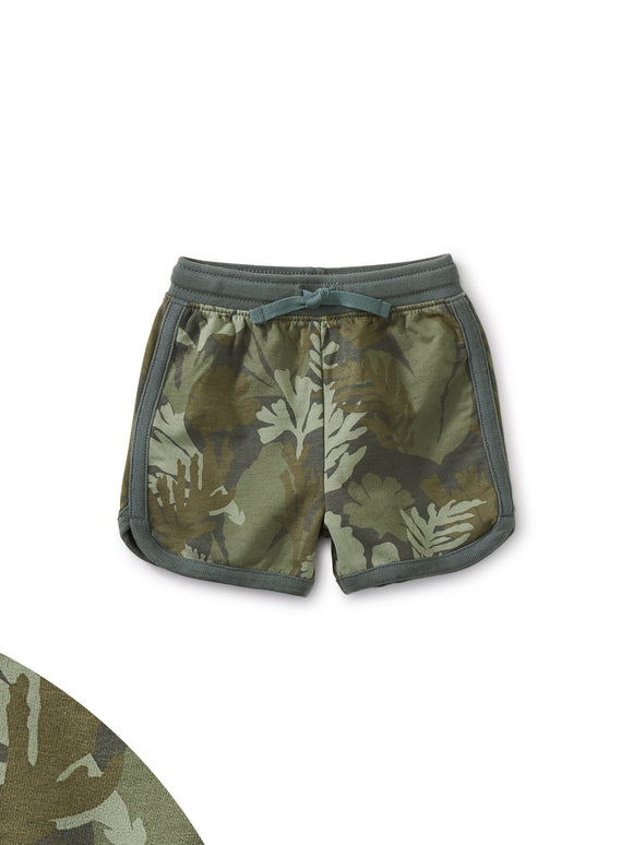 Tea Collection Baby Sport Shorts - Underwater Camo
