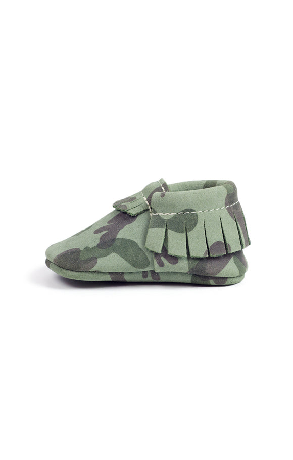 Freshly Picked Mocc - Green Camo