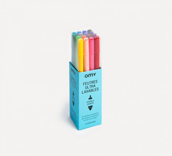 OMY Ultrawashable Felt Pens
