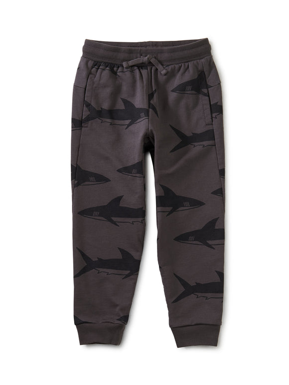 Tea Collection Good Sport Joggers - Bull Shark in Pepper