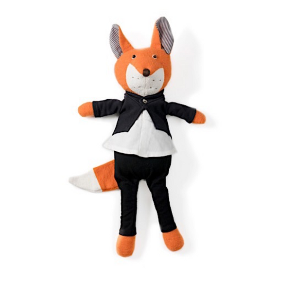 Hazel Village Animal - Owen Fox in Tuxedo