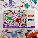 Charley Harper's 48 Piece Floor Puzzle - Wildlife Wonders