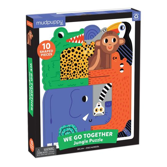 Mudpuppy Jungle We Go Together Puzzle