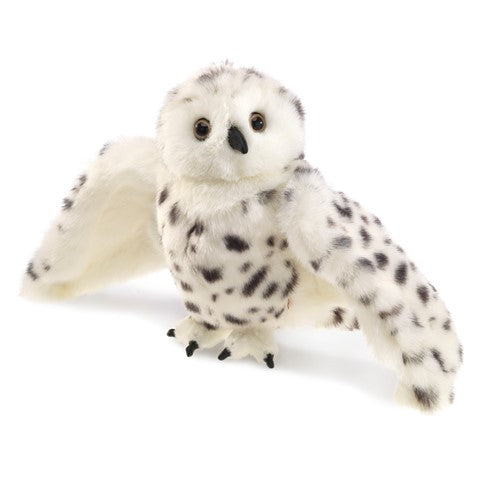 Folkmanis Snowy Owl (hand puppet)