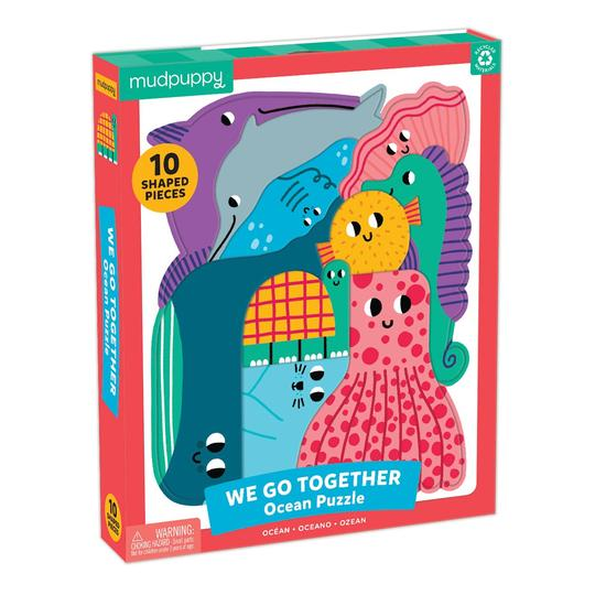 Mudpuppy Ocean We Go Together Puzzle