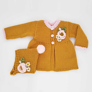 Huggalugs Sweater - Poppy Gold