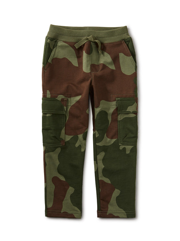 Tea Collection Printed Expedition Cargo Pants - Cool Camo