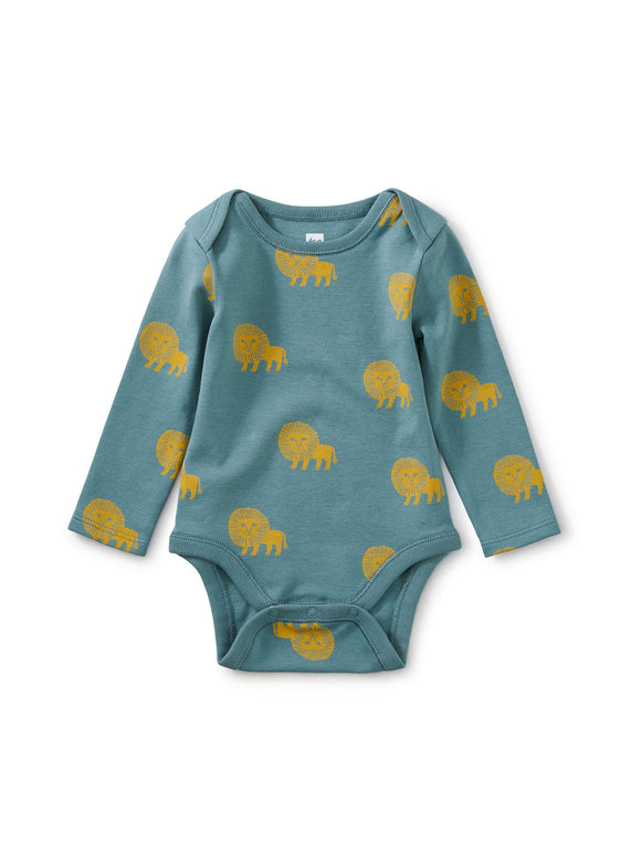 Tea Collection Baby Bodysuit - Lions