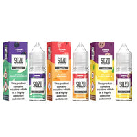 10mg Sqzd Flavoured Nic Salts 10ml  (50VG/50PG)