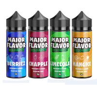 Major Flavor Reloaded 100ml Shortfill 0mg (70VG/30PG)