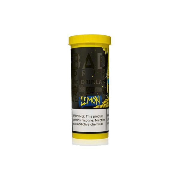NEW Dead Lemon by Bad Drip 0mg 50ml Shortfill (80VG-20PG)