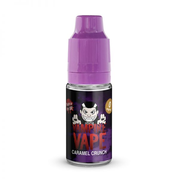 Caramel Crunch - 10ml Vampire Vape E-liquid