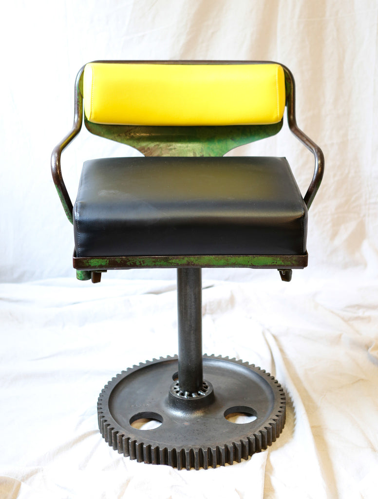 Charmant Vintage John Deere Tractor Seat Chair