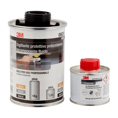 3M Antirombo Two-component polyurethane protective sealant 500gr 08829 08825 08827
