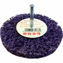 3m SCOTCH BRITE XT-ZS Purple Pulizia100 mm X 13 mm X 6 mm 05809 decapaggio disco