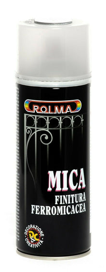 VERNICE SPRAY COLORE FERRO MICACEO SMALTO ROLMA BOMBOLETTA 400 ML