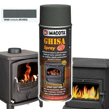 CAST IRON SPRAY SPECIAL PAINT FOR CAST IRON RESISTANT TO HEAT AND CORROSION
