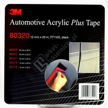 3M BIADESIVO ACRILICO SCHIUMA NASTRO 80320 AUTOMOTIVE PLUS TAPE