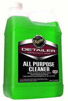 3M Meguiar's® All Purpose Cleaner, Pulitore per usi generali, 3.78 L, DETAILER