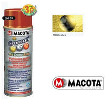 MACOTA SMALTO VERNICE SPRAY 400ML EFFETTO CROMO RAME ALTA QUALITA CROMATI
