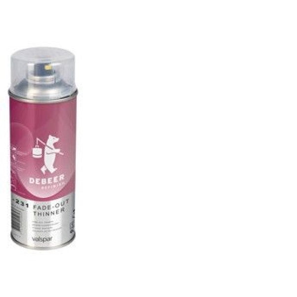 FADE OUT THINNER SPRAY DEBEER DILUENTE PER SFUMATURE SPRAY