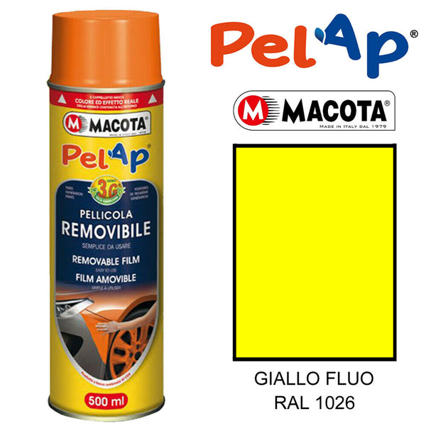 MACOTA PELAP REMOVABLE SPRAY PAINT SPRAY ADHESIVE PEELABLE WRAPPING 500ML