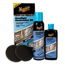 Meguiar's Two Step Headlight Restoration Plus Kit rinnova fanali 2-Step G2970EU